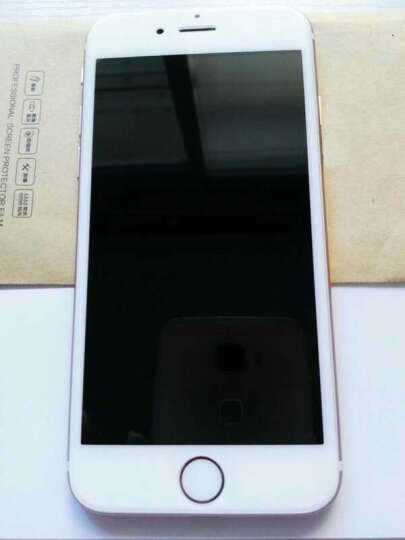加能 苹果6S钢化膜 全屏覆盖前后膜保护膜防指纹手机贴膜 适用iphone 6/6s/plus 4.7英寸 黑色背面钢化后膜 晒单图