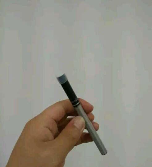 巴索敦极夜电子烟套装 80W智能双控仿真香烟口感大烟雾充电循环使用控烟戒烟产品 极夜黑(送烟油5瓶+雾化芯2个) 晒单图