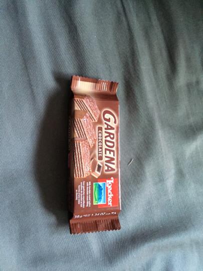 莱家(Loacker)莱家加迪纳可可巧克力威化饼 38g 晒单图