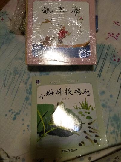 中国名家经典原创图画书乐读本:小蝌蚪找妈妈+小牛牯+小兔偷瓜+桃太郎(套装共4册) 晒单图