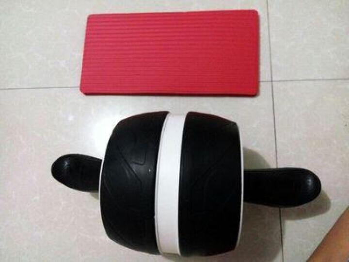 ZHENG健腹轮巨轮 腹肌收腹运动家用小器材健腹轮腹肌轮运动健身器材家用女瘦腰男士减肚子马甲线收腹训 白灰巨型轮 晒单图