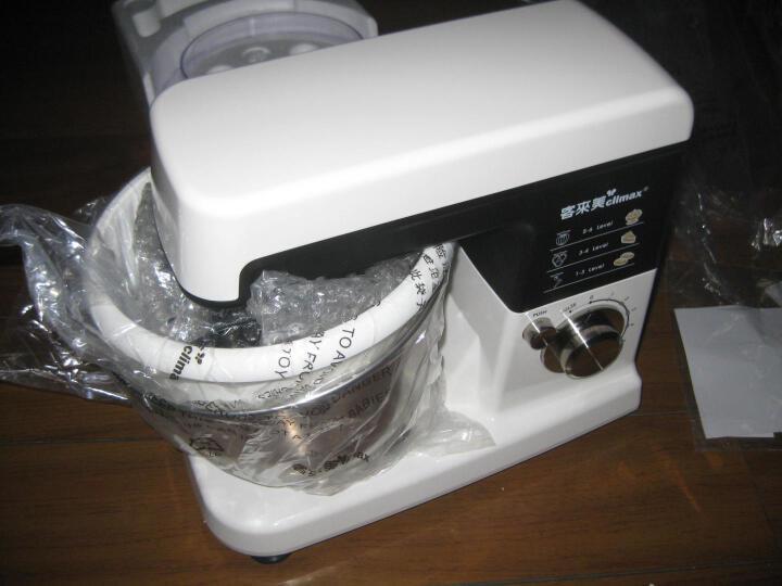 客来美(climax) HA-3480A多功能厨师机家用小型和面机全自动揉面机活面搅面机合面打蛋机 晒单图