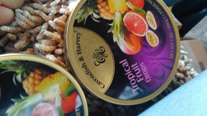 德国 嘉云糖水果糖 草莓/柠檬/香果/芒果味 富含果汁 硬糖糖果 梨+黑莓味200g 晒单图