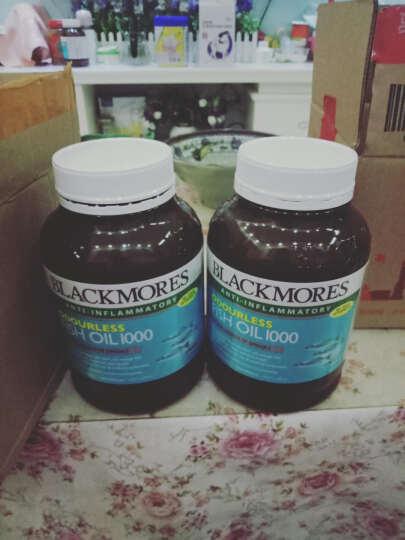 澳洲进口 澳佳宝(Blackmores)深海鱼油软胶囊 欧米伽3 无腥味 400粒 晒单图