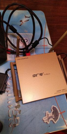 中广电(ZGD) 华数宽带网络电视机顶盒乐视盒子高清八8核直播电信智能无线wifi爱奇艺魔盒数字天线 六天线升级版(T8+路由器功能) 晒单图