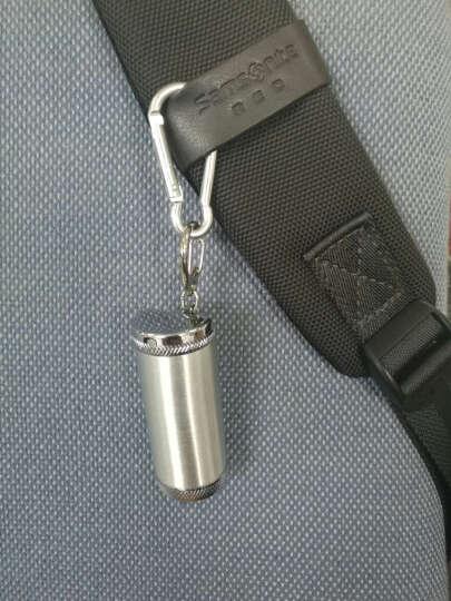 熙凌礼品 希洛创意合金便携随身烟灰缸带钥匙扣  中号铬色 5 晒单图