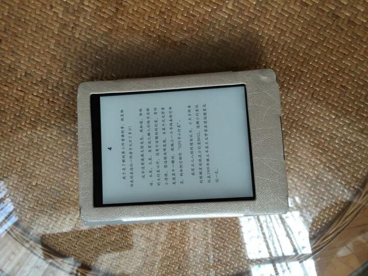 优肯思 亚马逊Kindle Paperwhite 6英寸保护套1/2/3代电子书阅读器皮套 蓝色-钢丝纹 晒单图