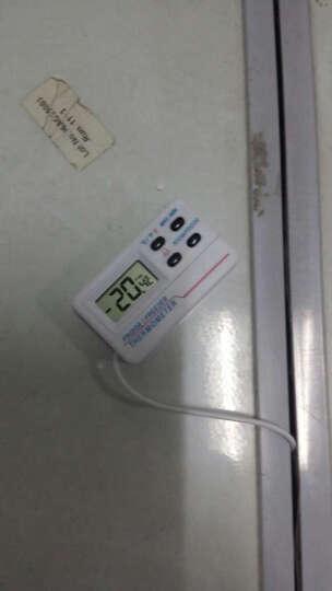 开泰(KT)电子冰箱温度计/家用冰箱温度计 冷冻柜冷藏 医用\自带警报功能 带探头 晒单图