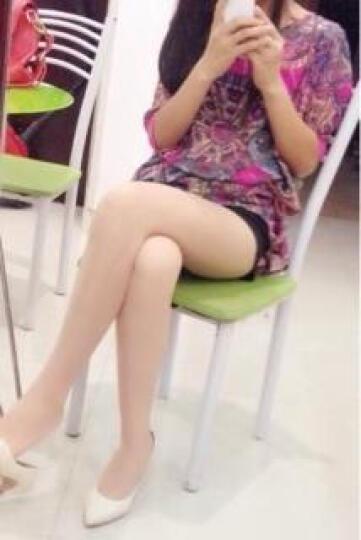 北极绒袜子10双装女士丝袜连裤袜 15D T档冰冻超薄性感防勾丝加档美腿袜 T档肤色10双 均码 晒单图