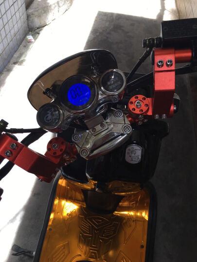 酷驿电动车电瓶车祖玛电动车72V长跑王电动摩托车踏板车带一键修复三档变速倒车功能 海星手把单拍不发货 晒单图