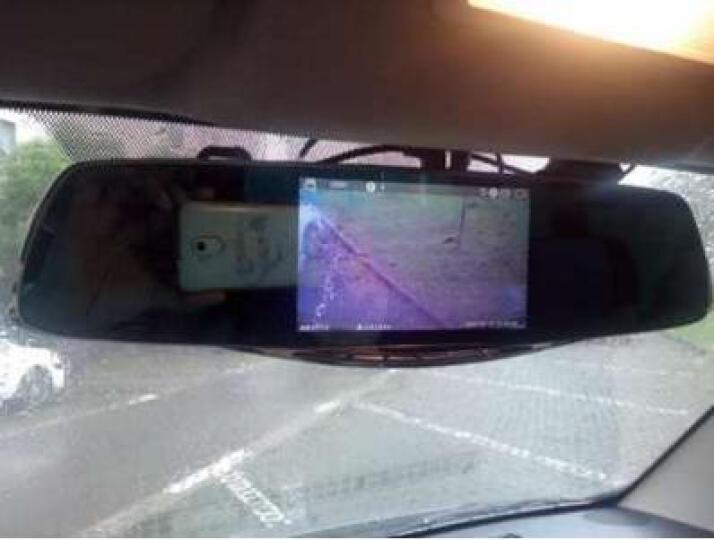 凌度智能声控云电子狗双镜头行车记录仪 导航版双镜头固定测速wifi语音声控+32G 晒单图