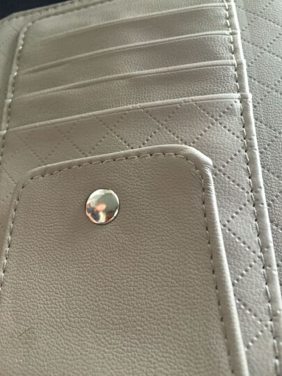 汽车眼镜夹 车载眼镜架盒 车用多功能遮阳板票据名片卡片夹收纳袋 汽车用品 沉稳灰色 晒单图