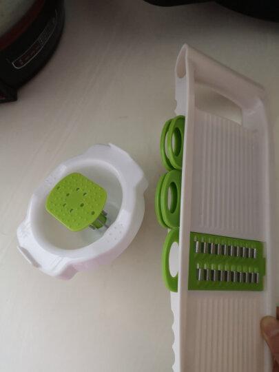 美之扣 多功能切丝切片器 带护手刨丝擦丝切菜机器 绿色5件套 晒单图