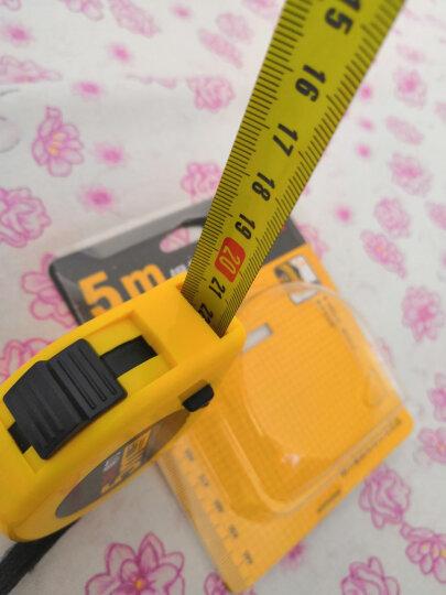 得力(deli)7.5m高精度钢卷尺 木工尺装修测量尺子 带英寸 晒单图