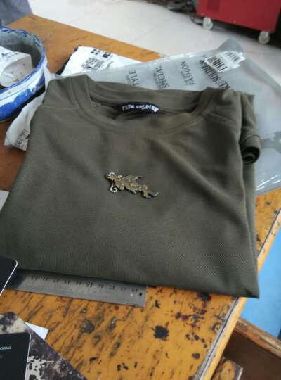 自由兵(Free Soldier) 军迷户外 飞虎战术短袖 男夏新款迷彩作训服 耐磨透气T恤 Multicam黑 XL 晒单图