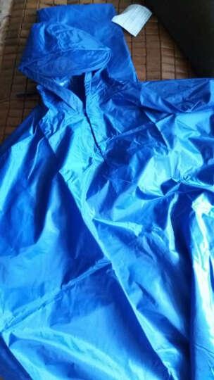 天堂牌 新款 自行车雨披/雨衣 N118 包邮 4蓝色 晒单图