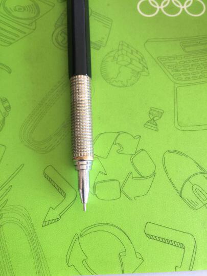 红环(Rotring) 自动铅笔 600  绘图铅笔 设计制图漫画线稿 金属活动铅笔 黑色 0.35mm 晒单图