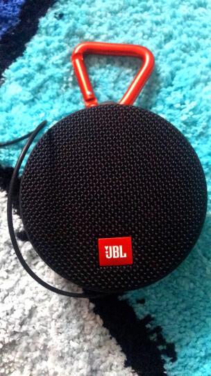 JBL Clip2 音乐盒2 蓝牙便携音箱 低音炮 户外迷你小音响 防水设计 高保真无噪声通话 红色 晒单图