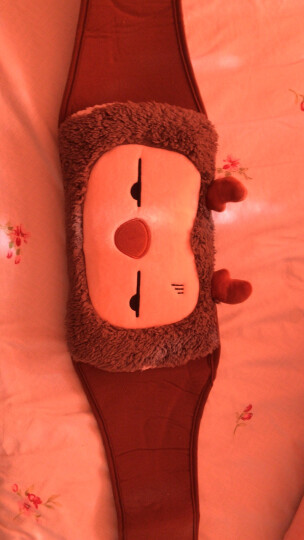 伊暖儿(e·warmer)福鹿充电热水袋式暖腰宝 暖腰带暖宫宝护腰带护宫 可拆洗 充一次用3-7小时  灰色 晒单图
