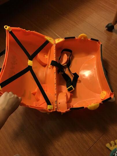 KO SHENG 儿童行李箱旅行箱可坐拖拉玩具骑行小孩宝宝个性拉箱子六一儿童节礼物 棒棒虎10032 晒单图