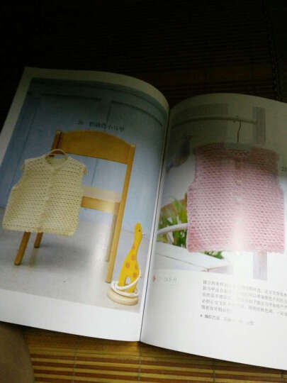 正版 1周就能织好的儿童毛衣8-9cm 婴儿宝宝毛衣编织大全花样钩针棒针编织手工编织教程书 晒单图