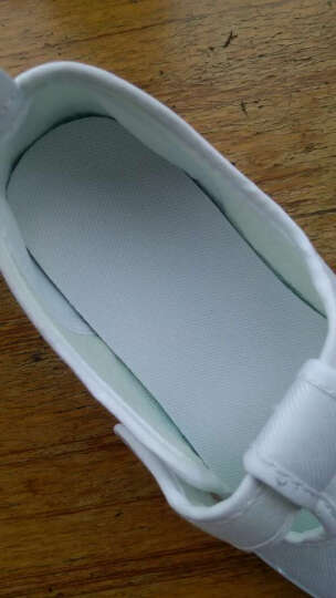 汉朴思童鞋儿童帆布鞋白色学生鞋宝宝室内鞋小白鞋舞蹈鞋男童女童童鞋白布鞋 1975款 33码/内长21.1CM 晒单图