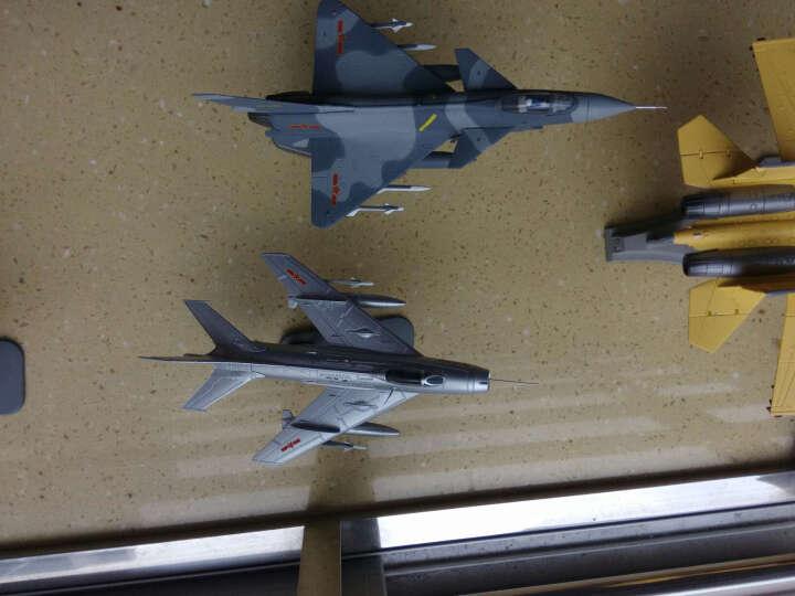 特尔博 新款1:72歼10战斗机飞机模型摆件仿真合金金属模型 军事模型航空航模 工艺品摆件 阅兵单座 晒单图
