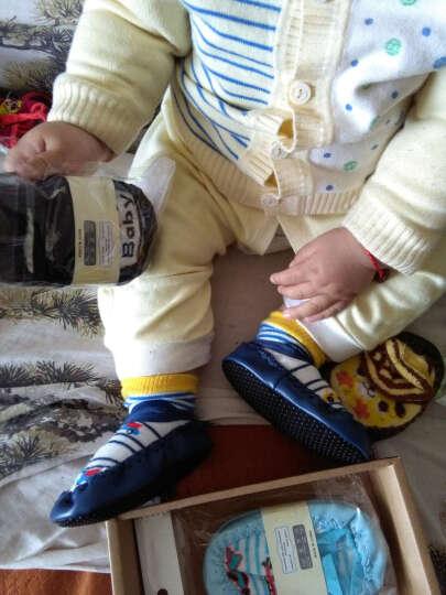 喜得瑞(xiderui) 喜得瑞儿童地板袜春秋季薄款宝宝鞋袜婴儿袜套纯棉隔凉防滑厚底学步鞋 可爱鞋袜女宝3双装 M码1-2岁(底长13cm) 晒单图