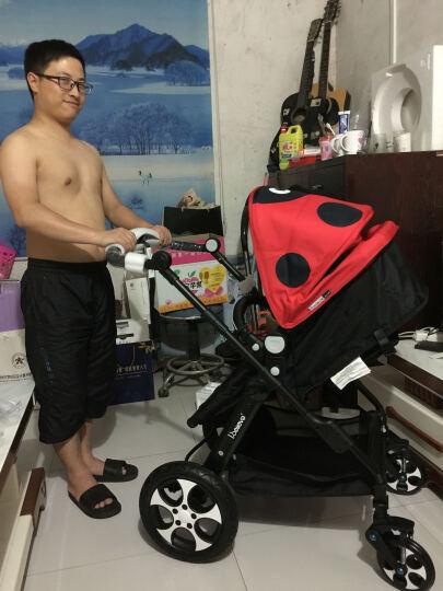爱贝丽(IBelieve) 婴儿推车可坐可躺新生儿婴儿车高景观双向避震折叠儿童童车0-3岁宝宝手推车 3代星空蓝-限量(0-3岁) 晒单图