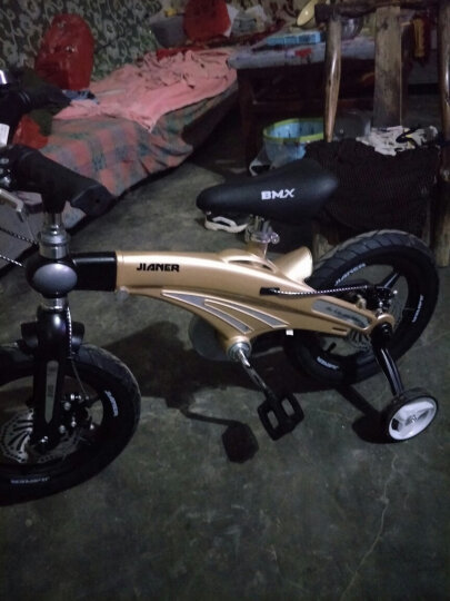 健儿(jianer) 【可加长】儿童自行车男女小孩单车12/14/16寸 好评17000+ 12寸 晒单图