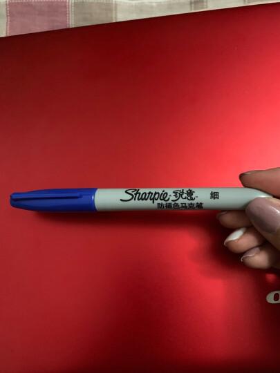 锐意(Sharpie)马克笔/记号笔 细头红单支 美国进口防褪色 晒单图
