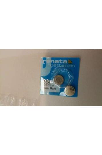 瑞纳达(RENATA) 原装进口手表电池364 SR621SW(SR60)氧化银纽扣电池 晒单图