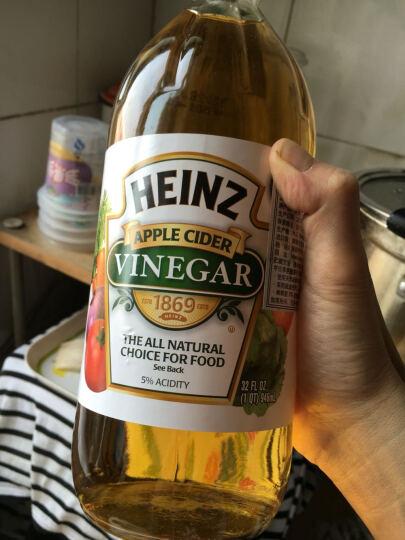 Heinz亨氏 苹果醋946ml USA美国进口 制作沙拉冷盘 西餐烹饪 调制热饮 晒单图