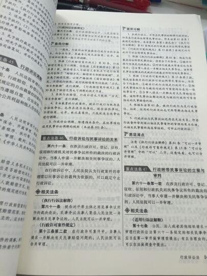 万国 2016司法考试重点法条解读(精华版) 晒单图