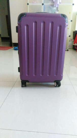 波米拉杆箱万向轮旅行箱男女行李箱24英寸26英寸28英寸登机密码箱20英寸 磨砂紫色带扩展 24英寸 晒单图