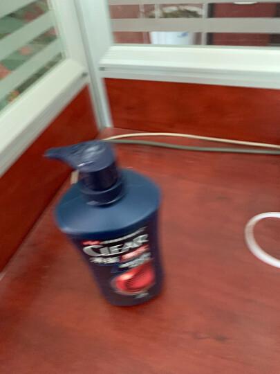 清扬(CLEAR)洗发水 男士去屑洗发露多效水润养护型750g(新老包装随机发)(氨基酸洗发) 晒单图