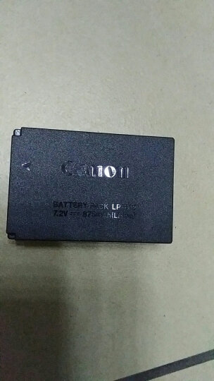 佳能 LP-E12原装电池 单反EOS 100D、微单M100、M50、M10、M2、M相机通用 E12电池+国产充电器 晒单图