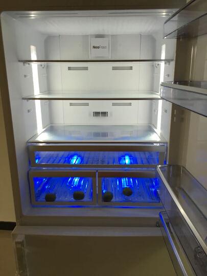 欧洲英国倍科(BEKO) CN160220IW 553双门冰箱  风冷无霜 变频节能大宽门电冰箱 晒单图