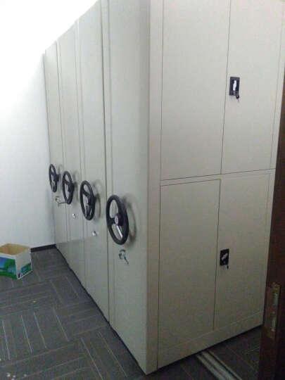 金经金属咖啡色密集架文件柜可定制移动档案柜手摇式轨道钢制密集柜 一列7组每立方单价 晒单图