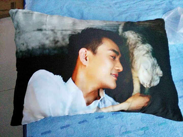 王凯周边他来了请闭眼小说伪装者影视周边正版海报同款抱枕长生日礼物靠垫靠枕 14 双面韩国缎 晒单图
