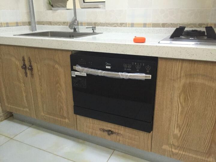 美的(Midea) 6套 小户专属 全自动除菌台式家用洗碗机 WQP6-3206A-CN 晒单图