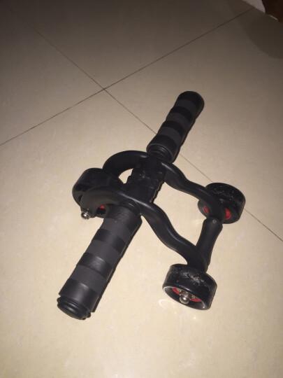 多德士(DDS)健腹轮腹肌轮三轮健身轮减肚子健身器材家用锻炼滚轮健腹器 晒单图