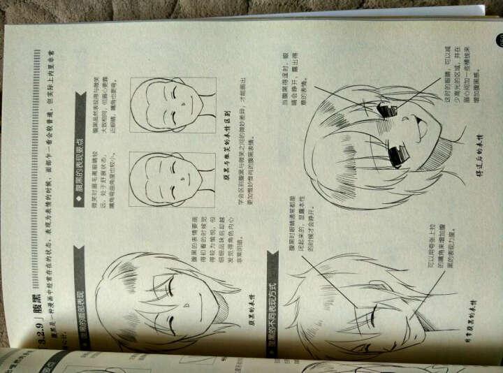 漫画素描技法完全教程——表情动作篇 晒单图