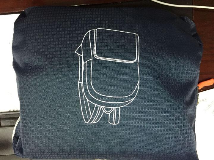 高尔夫GOLF双肩包 男女通用背包皮肤包防水可折叠大容量14英寸电脑包学生便携书包 灰色15英寸户外骑行(小包为折叠效果) 晒单图