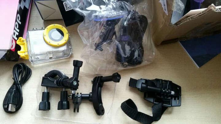 HYUNDAI 微型可遥控记录仪(运动摄像机+车载支架和车充组合 ) 晒单图