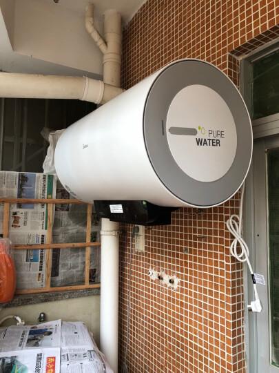 美的(Midea)80升速热增容 LED触控大屏 一级节能 遥控预约 防电墙电热水器 F8030-A6(HEY) 晒单图
