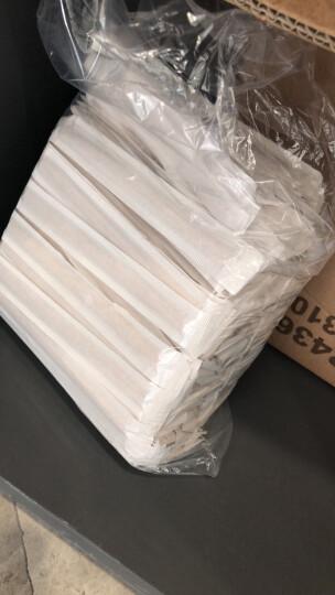焙印 一次性搅拌棒 木制咖啡调棒 纸套 白桦木 无荧光剂 500支/包 14cm 晒单图