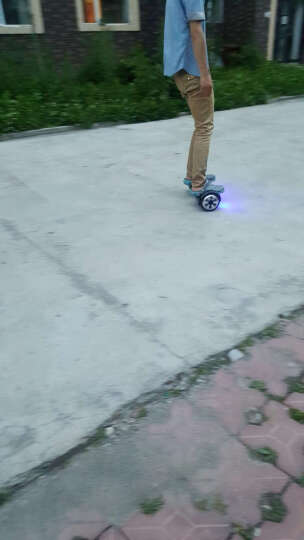 SJF 成人智能双轮电动平衡车思维车体感车独轮车代步车迷你自平衡车火星车儿童扭扭车两轮2轮 N3蓝色标准版(6.5寸+礼包) 晒单图