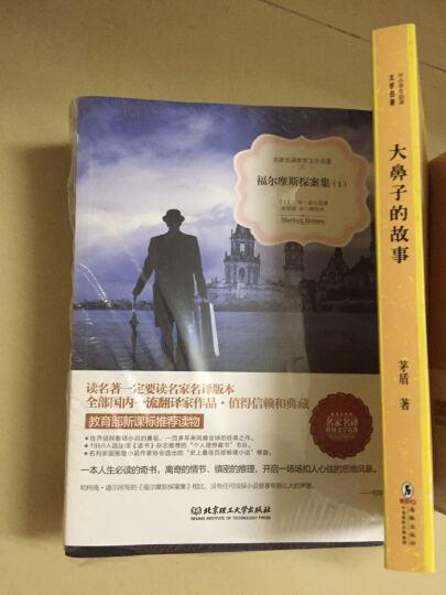 大侦探夏洛克福尔摩斯全集5册 名家名译系列青少年版侦探推理悬疑校园小说 晒单图