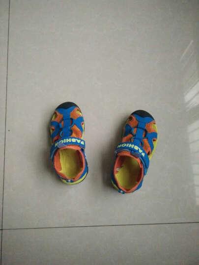 夏季新款男童凉鞋中大童凉鞋儿童凉鞋男童沙滩鞋防踢包头凉鞋童鞋凉鞋 深蓝色 37 晒单图